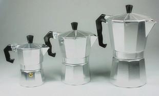 供应不锈钢,铝制咖啡壶及其咖啡具套装组合
