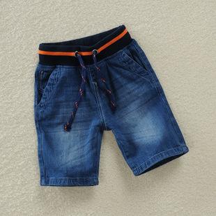 童裤外贸男童短裤 牛仔短裤中小童短裤季末清仓儿童短裤一件代发