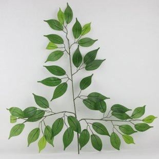 仿真榕树叶装饰树叶仿真树叶假榕树叶假叶子仿真植物树叶仿真叶子