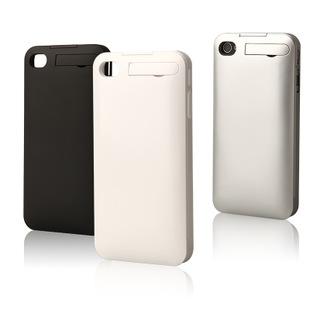 深圳背夹电池直销 现货库存 带支架 1800mAh iphone4背夹电池