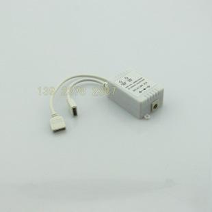 厂家直销rgb控制器功率放大器12v七彩灯rgb信号中继器同步放大器