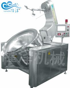 诸城隆泽机械有限公司供应电磁炒酱料锅 电磁加热行星搅拌夹层锅