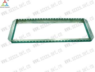 【鑫众盛】供应 排骨架 不锈钢排骨架 塑料排骨架 插板架 方通架