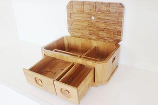 多功能茶叶盒批发 大量接单生产 专业制作竹制多功能茶叶盒