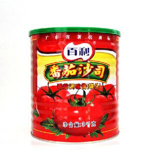 百利番茄沙司3KG特价批发 调味酱肯德基KFC口味 烘培腌料原料