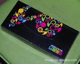 厂家专业生产广告盒抽纸巾 纸巾抽 面巾抽纸盒 广告纸巾盒