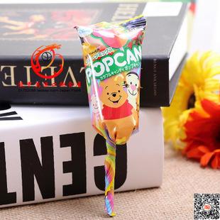 批发日本原装直送固力果gli.co迪士尼米奇头型棒棒糖10g 图案多种