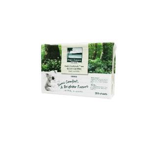 洁云自由森林环保擦手纸环保纸200张擦手纸抽取式擦手纸抽纸宠物