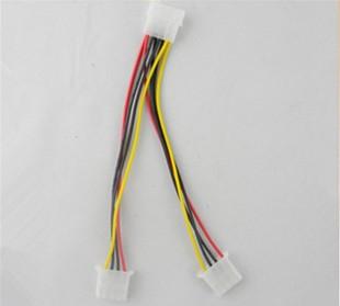 电脑机箱一分二电源线 硬盘电源线 大4P D口 IDE一分二电源线