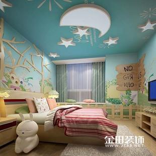 室内家庭装修样板间软装效果图