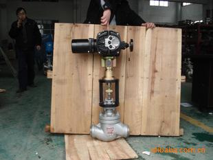 zdlm型电子式电动套筒调节阀图片