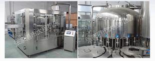 全自动冲洗、灌装、旋盖三合一机不含气饮料灌装机理瓶机