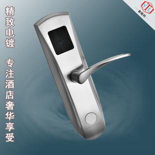 厂家刷卡酒店锁 酒店客房锁 磁卡感应锁  机械门锁1件起批