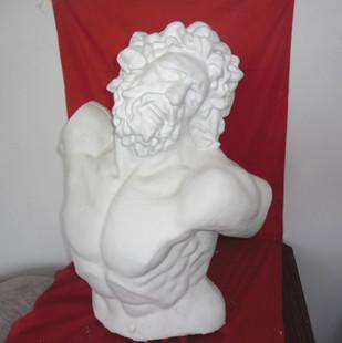 拉奥孔石膏头像画法步骤