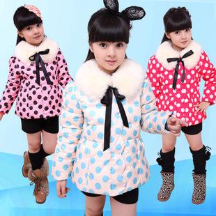 反季女童羽绒服特价清仓冬装中小童童装儿童羽绒服短款加厚外套