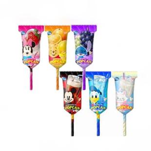 供应日本进口食品固力果迪斯尼棒棒糖9.5g
