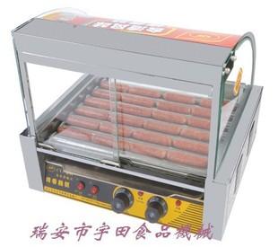 烤肠机热狗机7管滚式烤香肠机打狗棒机全自动360度烤肠机双控温