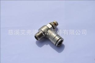 慈溪艾弗德厂家 限出型全铜镀镍节流阀 AJSC10-02