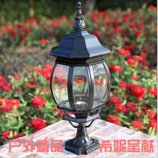 欧式立柱头灯具 户外室外庭院围墙防水门柱灯饰
