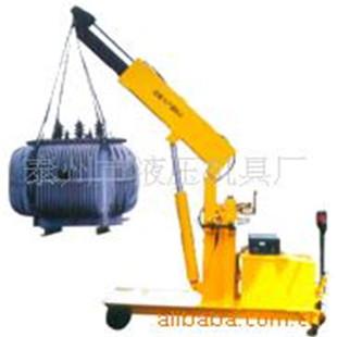 厂家供应电动旋转液压小吊车移动式电动吊车液压小吊机小型起重机图片