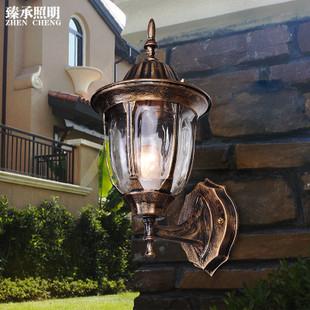 批发欧式壁灯复古室外阳台防水壁灯户外庭院过道灯墙灯具楼梯壁灯