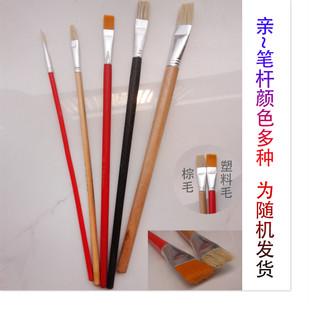 上海生花牌油画笔 毛笔 油漆涂料修补笔 鸭嘴笔