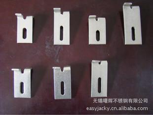 【厂家直销】 201不锈钢干挂件 大理石挂件 双弯