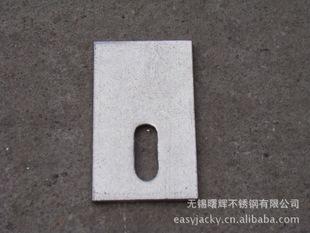 【厂家直销】 201不锈钢干挂件 大理石挂件平码(平板,直板)