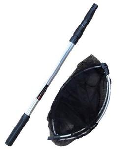 威龙渔具 特价热卖 1.7米铝合金网头收缩式抄网细眼钓鱼捞网