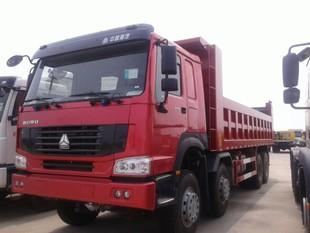 豪沃375马力8米库存自卸车直降10万销售