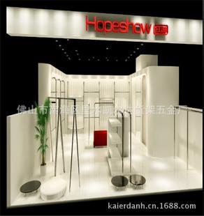 时尚女装店面形象设计 形象墙装修 品牌女装店效果图