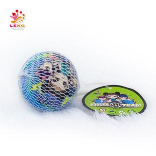 儿童体育玩具 网袋6.3公分弹力球 PU发泡球 pu发泡弹力球
