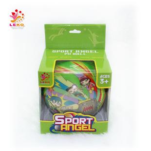 360度pu全彩印 1粒彩盒装大号15cm发泡弹力球 pu发泡弹力球玩具