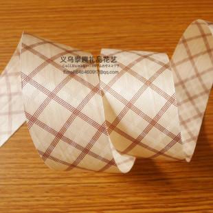 5cm双面压纹pp塑料彩带