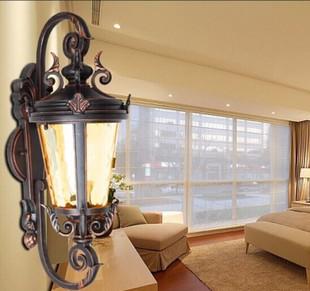 欧式壁灯户外灯别墅阳台灯庭院灯具防水灯复古墙壁灯