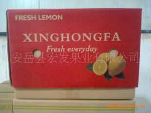 供应出口柠檬鲜果 15kg/箱装 尤力克
