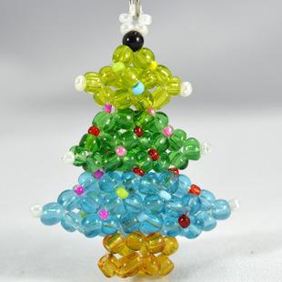 串珠圣诞树图片大全