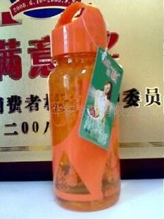供应特价480克太空杯观音泉饮料,橙粒混合水果饮料
