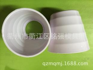 ABS瓷白塑料花盆 电子花盆 假花花盆 工艺品花盆 模具塑料制造