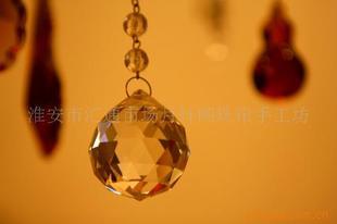 水晶灯饰球 水晶配件 水晶球 琉璃球 k9灯饰球 吊坠 水晶吊坠 球