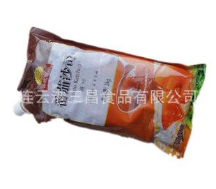 金冠 番茄沙司/番茄酱1000克装 挤挤塑料包装方便 寿司食材