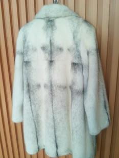 进口十字貂皮大衣 高档大衣 2014冬款奢华貂皮大衣 长款外套