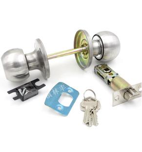 一件代发 607三杆式球锁 外装门锁 室内门锁 机械门锁
