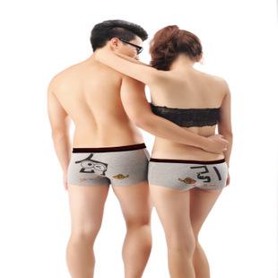 内衣 内裤 03全纯棉卡通内裤可爱印花图案