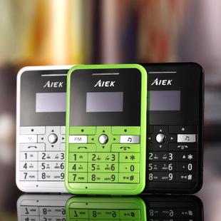 AIEK艾尔酷V9超薄个性化手机 超薄迷你卡片手机儿童定位袖珍手机