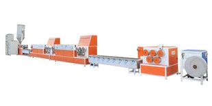 PET塑钢打包带机械  打包带生产线  打包带设备