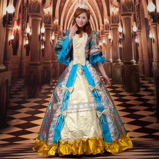 现代舞演出服西方公主服欧式宫廷装/异国风情迎宾服