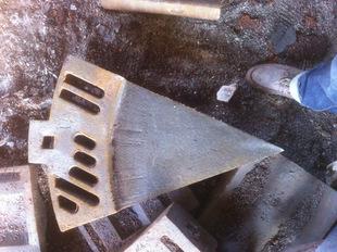 高锰钢铸件之φ3.2m球磨机篦板