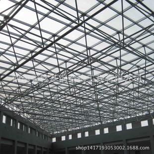 钢结构棚施工图片