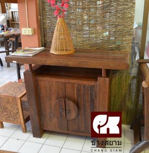 泰国木雕玄关柜 装饰储物柜 东南亚风格特色家具 spa酒店足浴